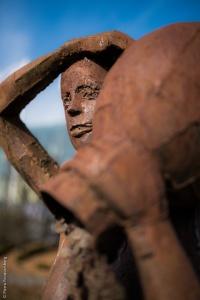 La statue à l'amphore - Casino d'Enghien-les-Bains