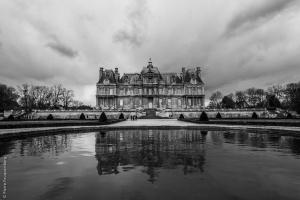 Château de Maisons-Lafitte et son reflet