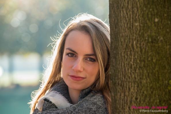 Séance portrait pour Alexandra - parc de Saint-Germain-en-Laye