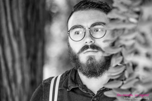 """Session portrait """"Hipster"""" pour Valentin à Conflans-Sainte-Honorine (parc du Prieuré)"""