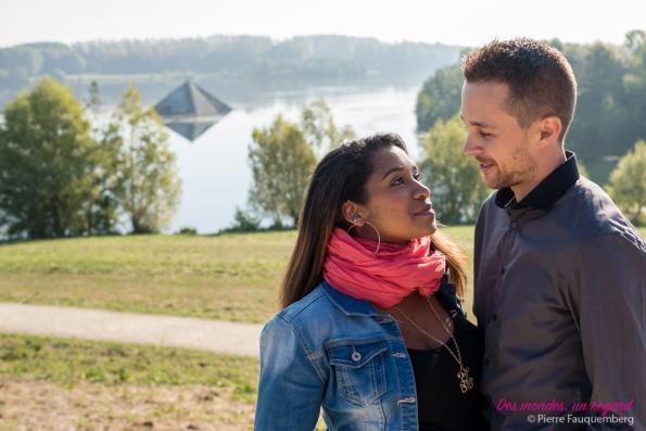 Session grossesse pour Vanessa et Jean-René - Axe Majeur (Cergy)
