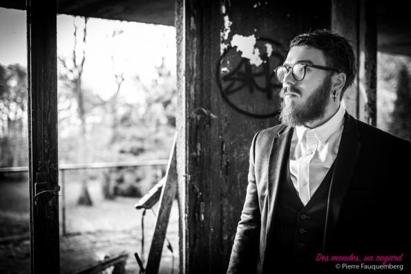 Shooting pour Valentin au sanatorium d'Aincourt (Urbex)