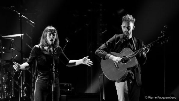 Agathe Da Rama en concert au théâtre Simone Signoret (Blues sur Seine 2017)