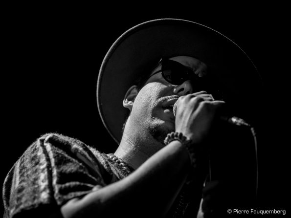 Ben L'Oncle Soul à Blues sur Seine 2017 (salle Jacques Brel à Mantes la Ville)