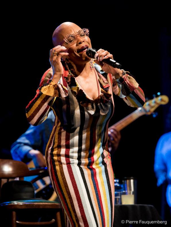 Dee Dee Bridgewater / Agathe Da Rama en concert au théâtre Simone Signoret (Blues sur Seine 2017)