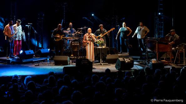 Dee Dee Bridgewater en concert au théâtre Simone Signoret (Blues sur Seine 2017)