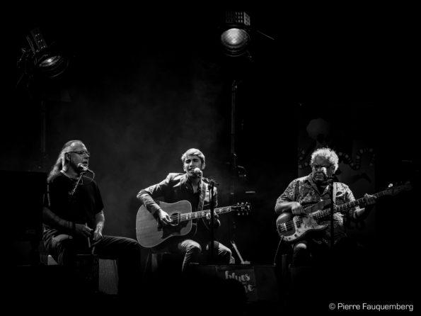 Flo Bauer à l'espace Julien Green, Andrés (Blues sur Seine 2017)