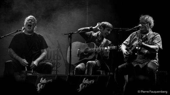 Flo Bauer à l'espace Julien Green, Andrésy (Blues sur Seine 2017)