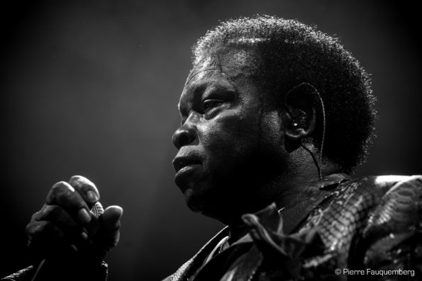 Lee Fields & The Expressions / William Z Villain en concert à La Nacelle (Blues sur Seine 2017)