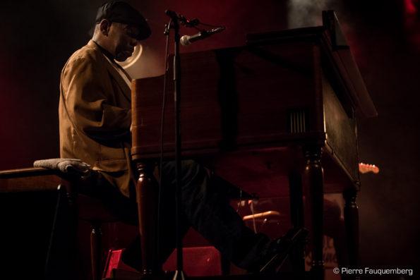 Lucky Peterson / Flo Bauer à l'espace Julien Green, Andrésy (Blues sur Seine 2017)
