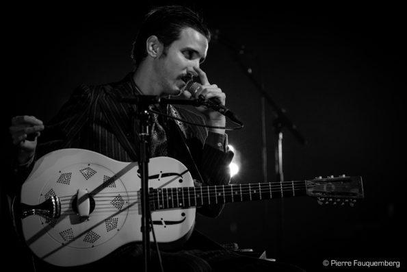 William Z Villain en concert à La Nacelle (Blues sur Seine 2017)