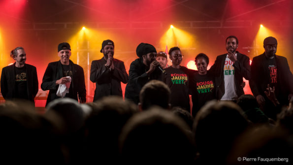 Yaniss Odua au festival Bonne Machine 2016 (Conflans-Sainte-Honorine)