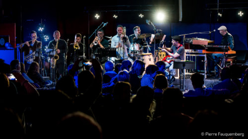 Movie Funk Band - Guest Live (Bondy)