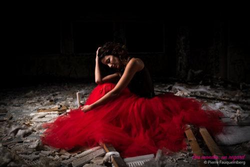 Shooting princesse pour Audrey au sanatorium d'Aincourt (Urbex)